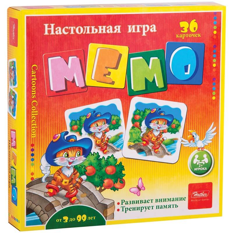 Настольная игра Мемо, 36 карточек - Сказки фото