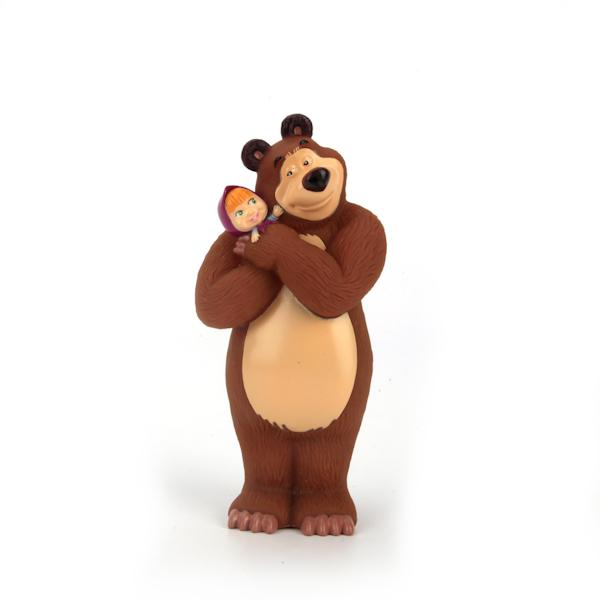Фигурка для ванной Маша и Медведь - Медведь с Машей на рукахИгрушки Союзмультфильм<br>Фигурка для ванной Маша и Медведь - Медведь с Машей на руках<br>