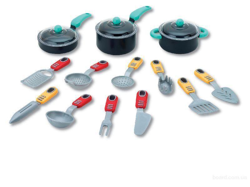 Игровой набор Моя кухня, 16 предметовАксессуары и техника для детской кухни<br>Игровой набор Моя кухня, 16 предметов<br>