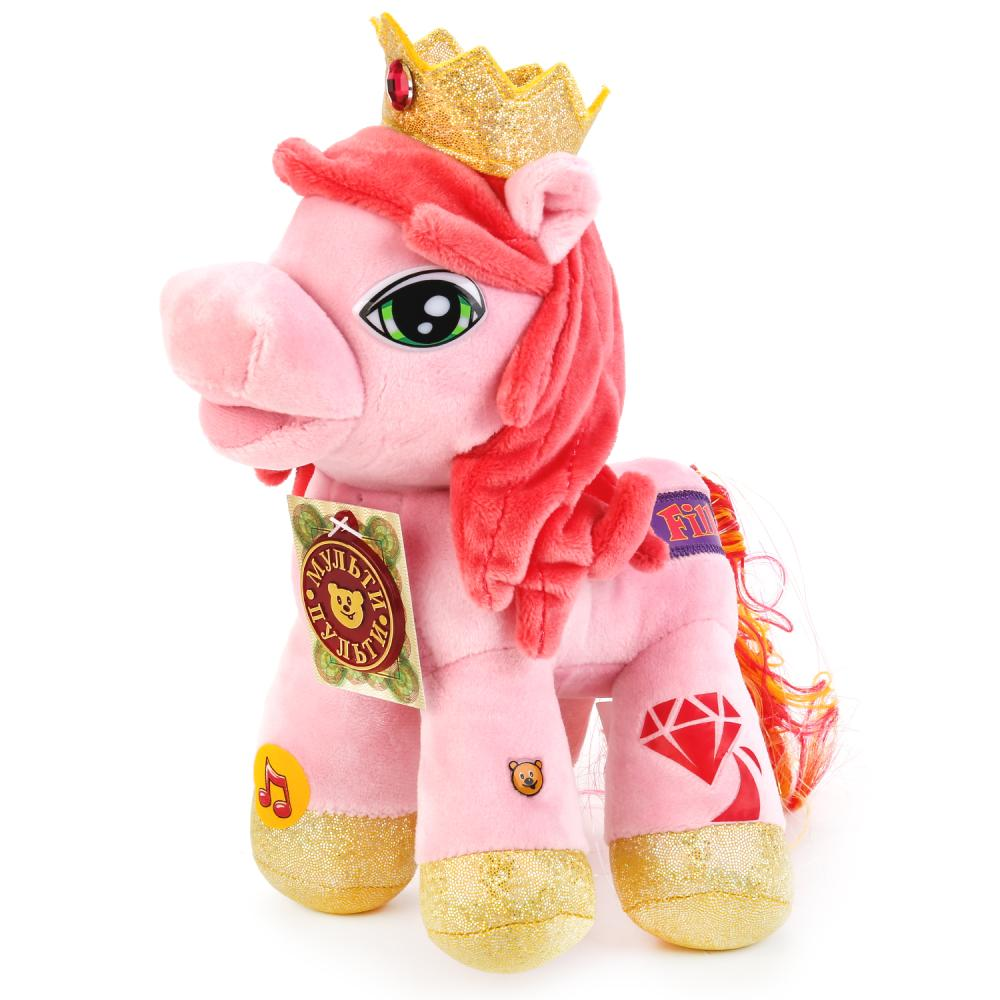 Купить Интерактивная мягкая игрушка - Пони Кристалл 23 см, Мульти-Пульти