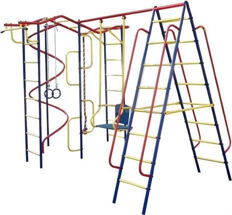 ДСК Пионер - Вираж, дачный плюс со спиральюДетские спортивные комплексы для дачи<br>ДСК Пионер - Вираж, дачный плюс со спиралью<br>
