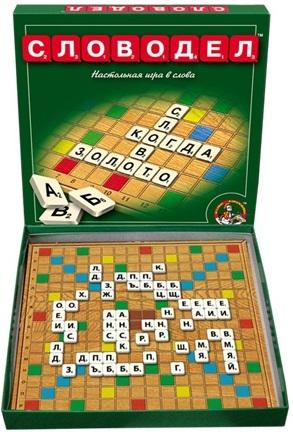 Игра детская настольная СловоделРазвивающие<br>Игра детская настольная Словодел<br>