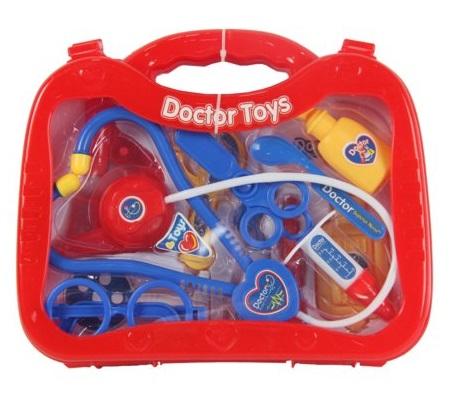 Набор доктора в пластиковом чемоданеНаборы доктора детские<br>Набор доктора в пластиковом чемодане<br>