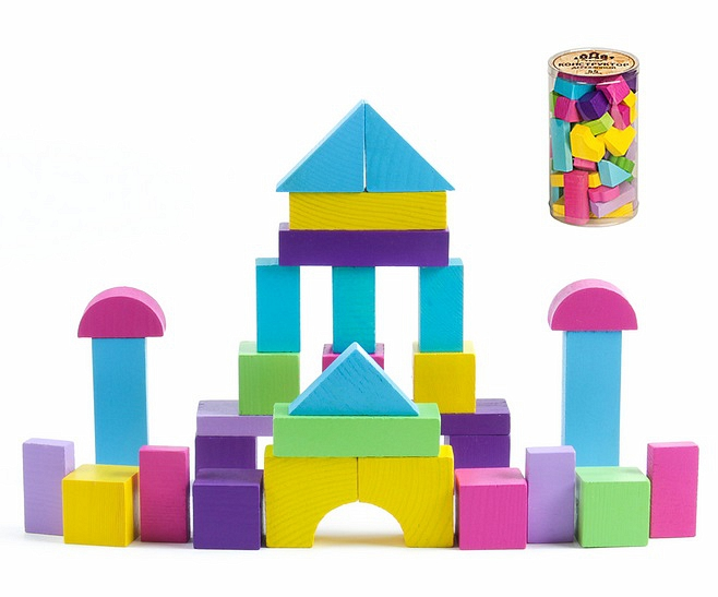 Конструктор - Вечер из серии Краски дня, 30 деталей от Toyway