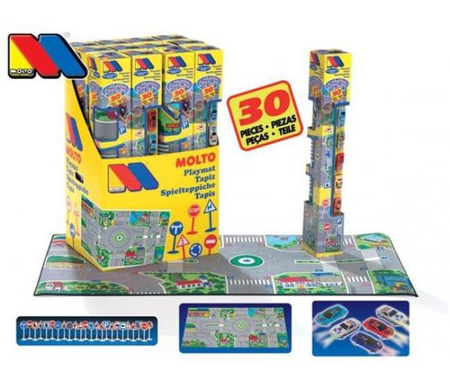 Игровой коврик – ГородДетские парковки и гаражи<br>Игровой коврик – Город<br>