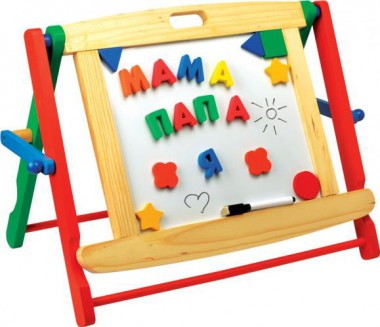 Мир деревянных игрушек Школьная доска настольная