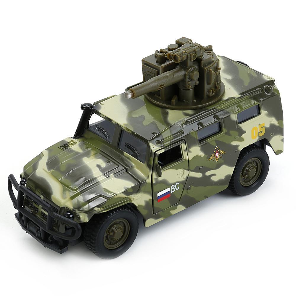 Купить Модель металлическая инерционная ГАЗ - Тигр, со светом и звуком, Технопарк