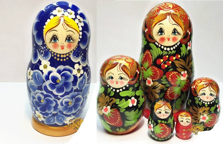 Матрешка 5 кукольная 13,5 см., несколько видовМатрешка<br>Матрешка 5 кукольная 13,5 см., несколько видов<br>