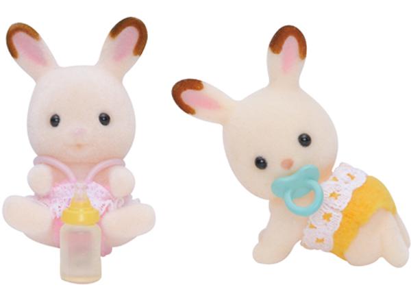 Sylvanian Families - Шоколадные Кролики-двойняшки фото