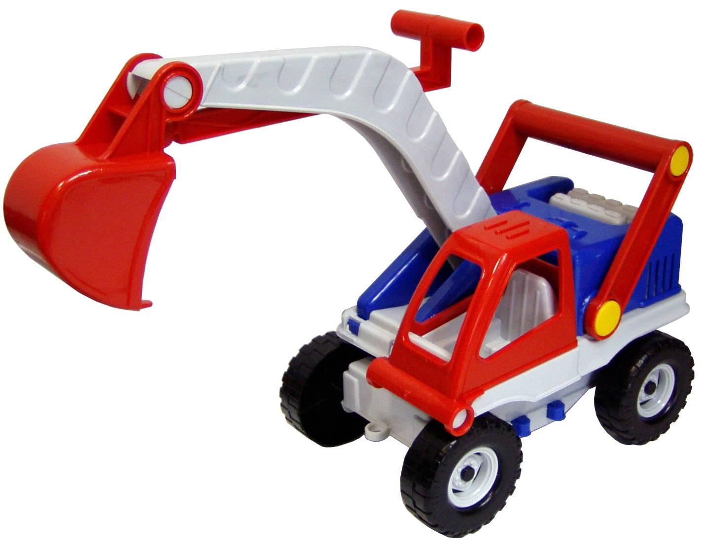 Купить Автомобиль строительный – Экскаватор, 25 см, ПК Форма