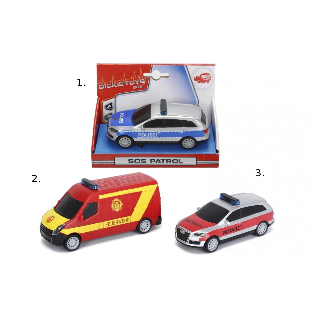 Машинки серии SOS, фрикционные, 14 см.Пожарная техника, машины<br>Машинки серии SOS, фрикционные, 14 см.<br>