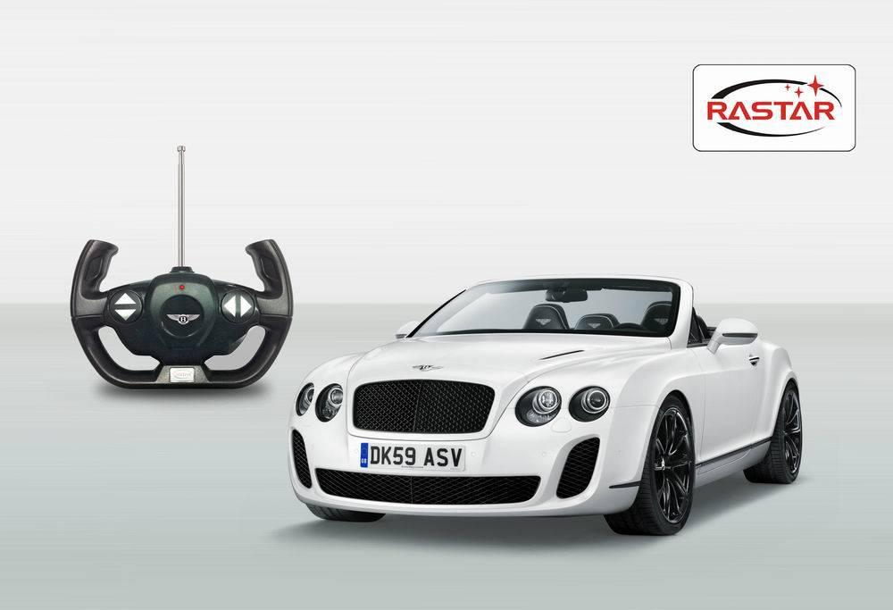 Bentley Continetal GT на радиоуправлении, масштаб 1:12 - Радиоуправляемые игрушки, артикул: 99650