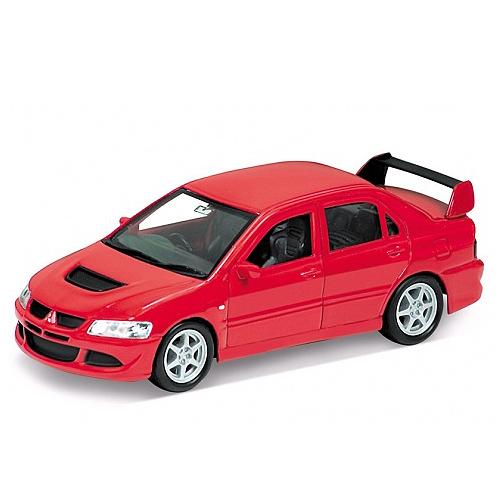 Купить Автомобиль Mitsubishi Lancer Evolution VIII, масштаб 1:34-39, Welly