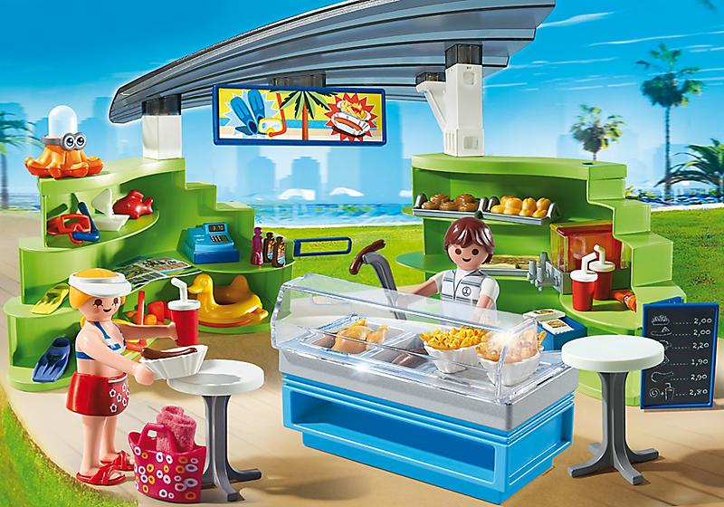 Игровой набор из серии «Аквапарк» - Магазин летних товаров с закусочнойВеселые каникулы<br>Игровой набор из серии «Аквапарк» - Магазин летних товаров с закусочной<br>