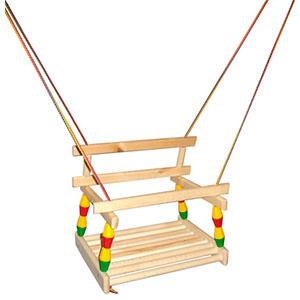 Купить Качели деревянные подвесные, RT