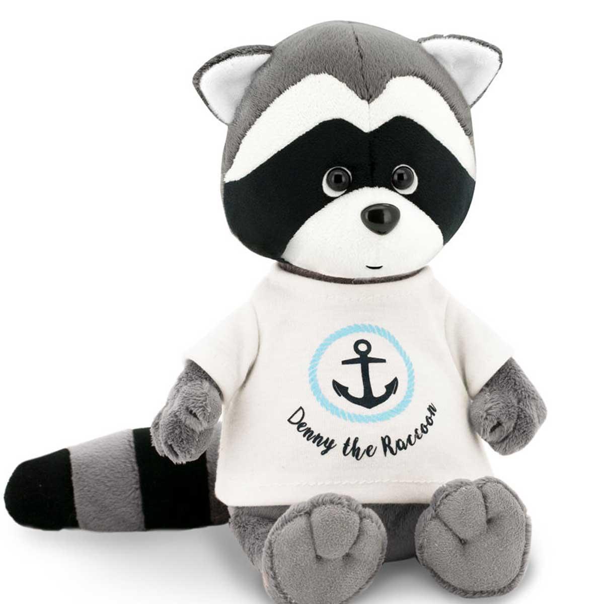 Мягкая игрушка из серии Life - Енотик Дэнни Якорь, 20 см.Дикие животные<br>Мягкая игрушка из серии Life - Енотик Дэнни Якорь, 20 см.<br>