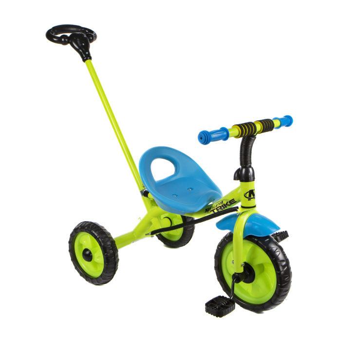 Купить Велосипед 3-х колесный, EVA колеса, поворот руля, ручка, тяга, Navigator
