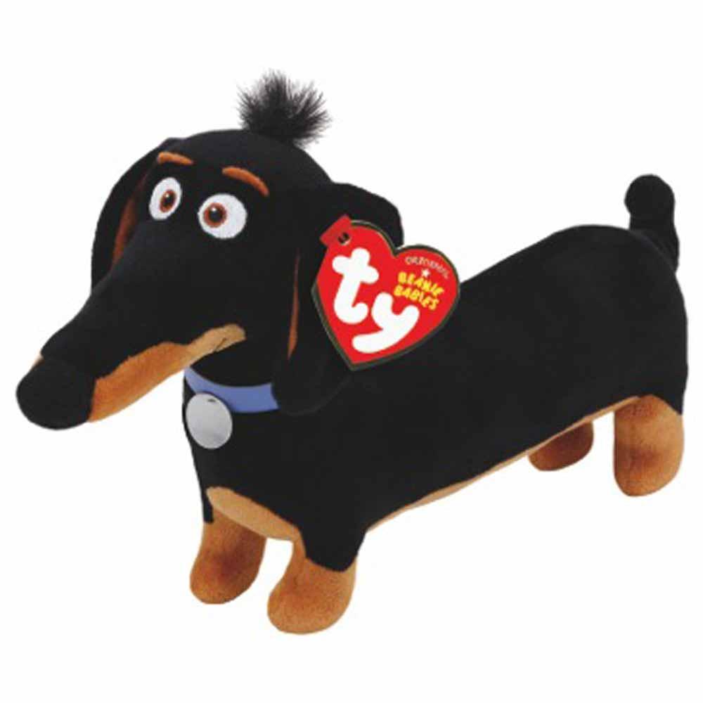 Мягкая игрушка - Тайная жизнь домашних животных - такса БаддиСобаки<br>Мягкая игрушка - Тайная жизнь домашних животных - такса Бадди<br>