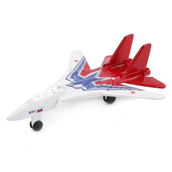 Купить Коллекционная металлическая модель – самолет-истребитель, 9 см, Технопарк