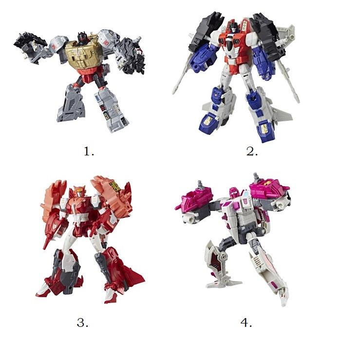 Трансформер из серии Transformers - Дженерейшнз Вояджер
