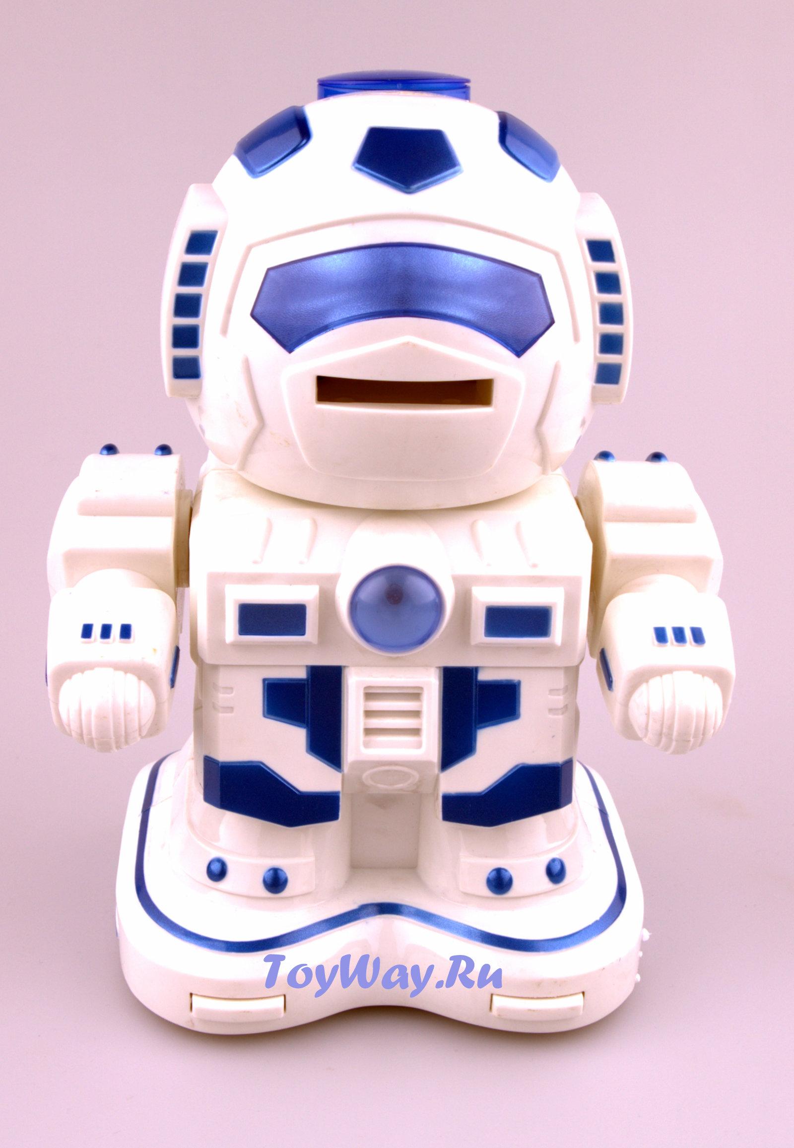 Робот на радиоуправлении, 28 см., свет, звук, стрельбаРоботы на радиоуправлении<br>Робот на радиоуправлении, 28 см., свет, звук, стрельба<br>