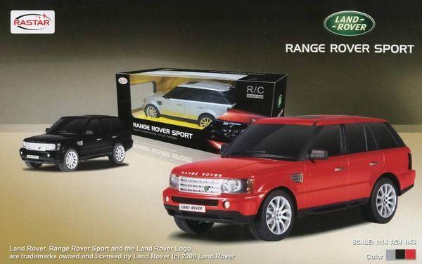 Rastar Range Rover Sport на радиоуправленииМашины на р/у<br>Range Rover Sport на радиоуправлении. При движении вперед - загораются фары, при движении назад - загораются фары заднего хода...<br>