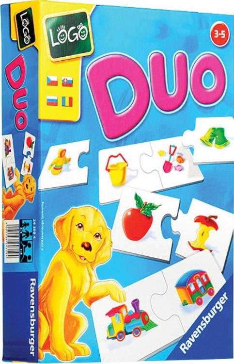 Настольная игра Лого ДуоРазвивающие<br>Настольная игра Лого Дуо<br>