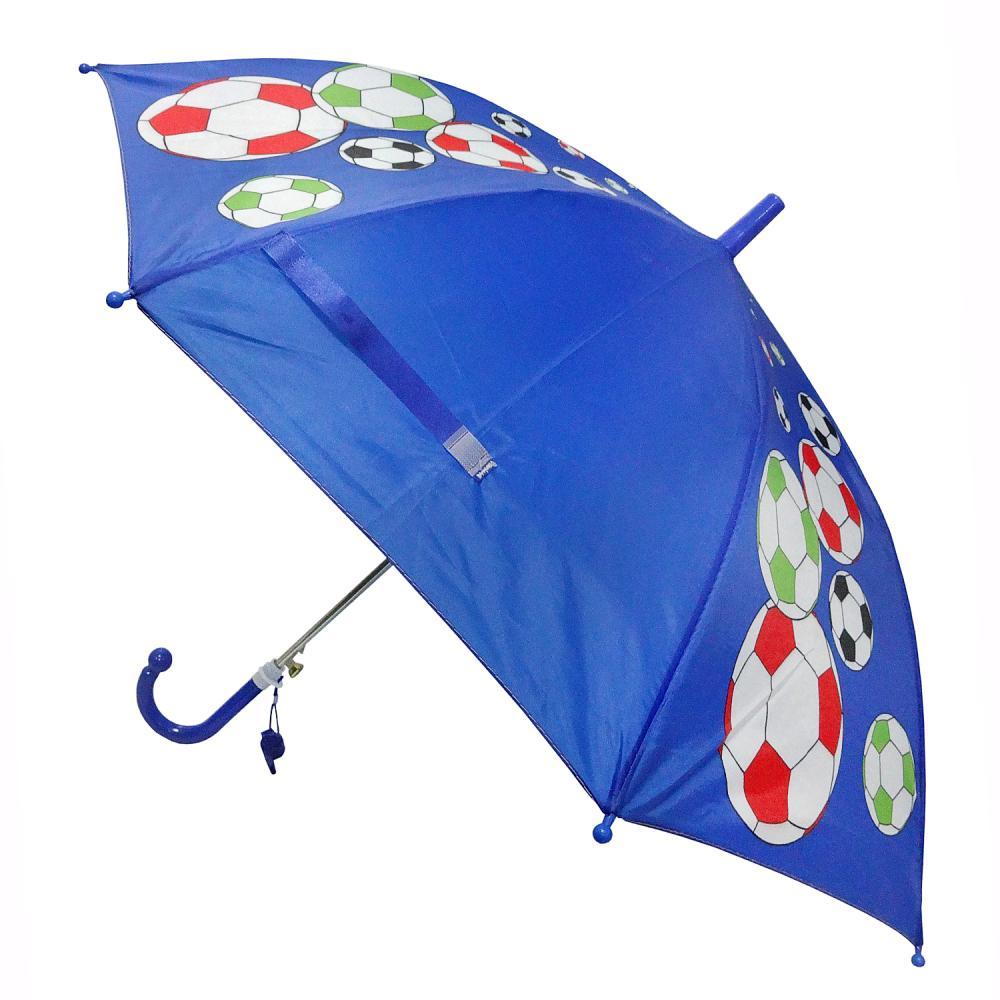 Детский зонт со свистком - Футболист, 45 см