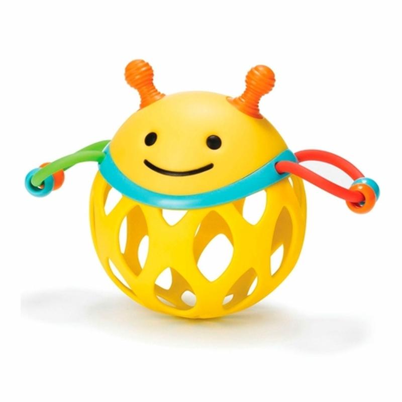 Игрушка-погремушка Шар ПчелаДетские погремушки и подвесные игрушки на кроватку<br>Игрушка-погремушка Шар Пчела<br>