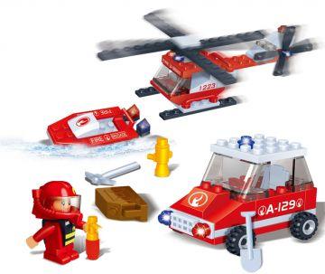 Игровой конструктор ПожарныйКонструкторы BANBAO<br>Игровой конструктор Пожарный<br>