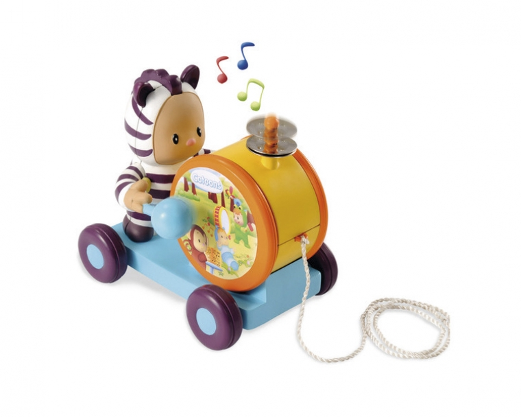 Каталка-тамбуринРазвивающие игрушки Smoby Cotoons<br>Каталка-тамбурин<br>