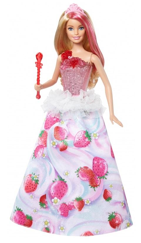 Кукла Barbie - Конфетная принцесса, свет и звук  - купить со скидкой