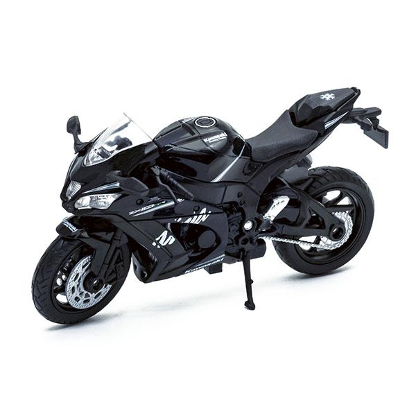 Купить Модель мотоцикла Kawasaki Ninja ZX-10RR, 1:18, Welly