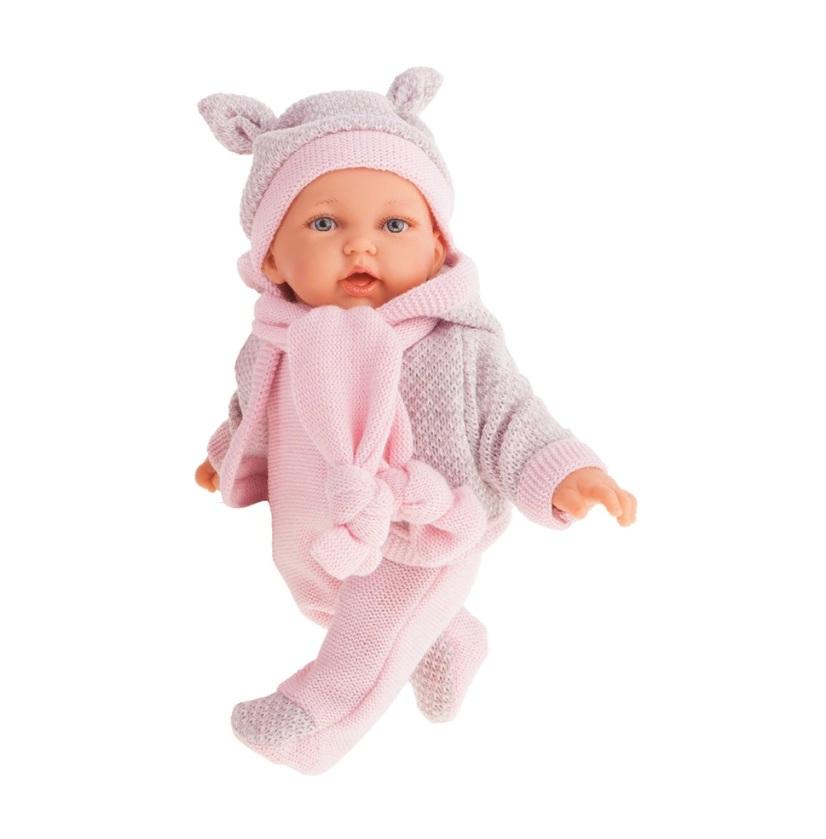 Купить Интерактивная кукла Ромина в розовом, 27 см, Antonio Juans Munecas