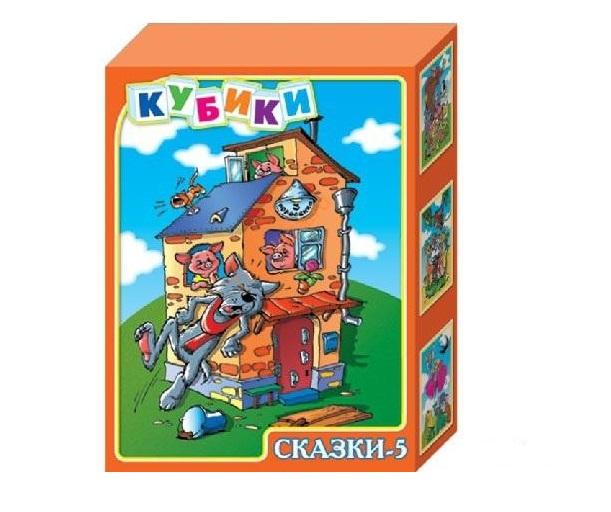 Кубики Сказки 5 12 кубиковКубики<br>Кубики Сказки 5 12 кубиков<br>