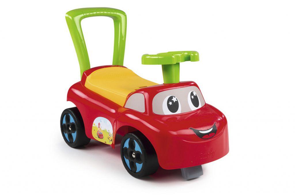 Машинка каталка, краснаяМашинки-каталки для детей<br>Машинка каталка, красная<br>