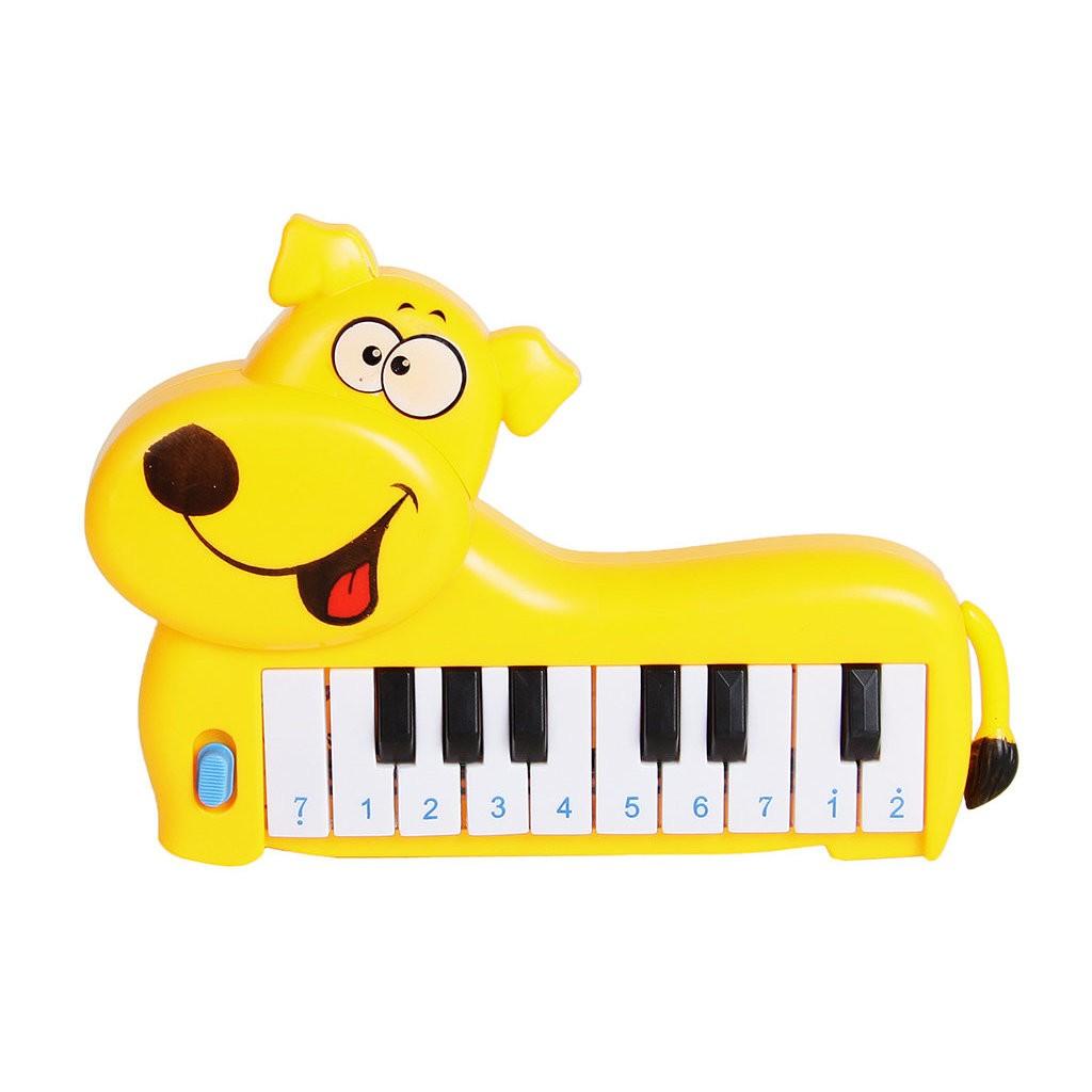 Купить Развивающее пианино - Собачка, 20 потешек и любимых песен, Умка