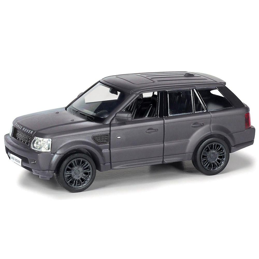 Металлическая инерционная машина RMZ City - Range Rover Sport, 1:32, черный матовыйLand Rover<br>Металлическая инерционная машина RMZ City - Range Rover Sport, 1:32, черный матовый<br>