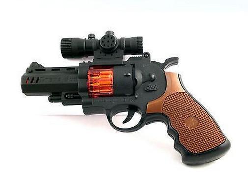 Пистолет Arsenal со звуковыми и световыми эффектамиАвтоматы, пистолеты, бластеры<br>Пистолет Arsenal со звуковыми и световыми эффектами<br>