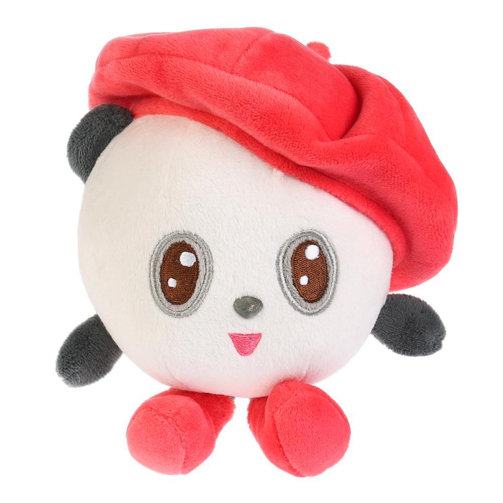 Игрушка мягкая из серии Малышарики Пандочка в берете, 10 см, музыкальный чип