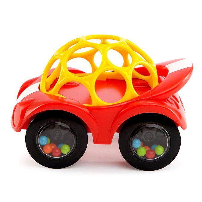 Купить Развивающая игрушка Машинка красная, Oball