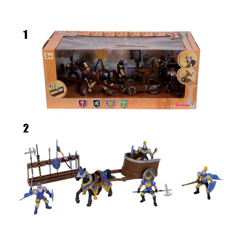 Набор фигурок воинов, 2 видаЗамки, рыцари, крепости, пираты<br>Набор фигурок воинов, 2 вида<br>