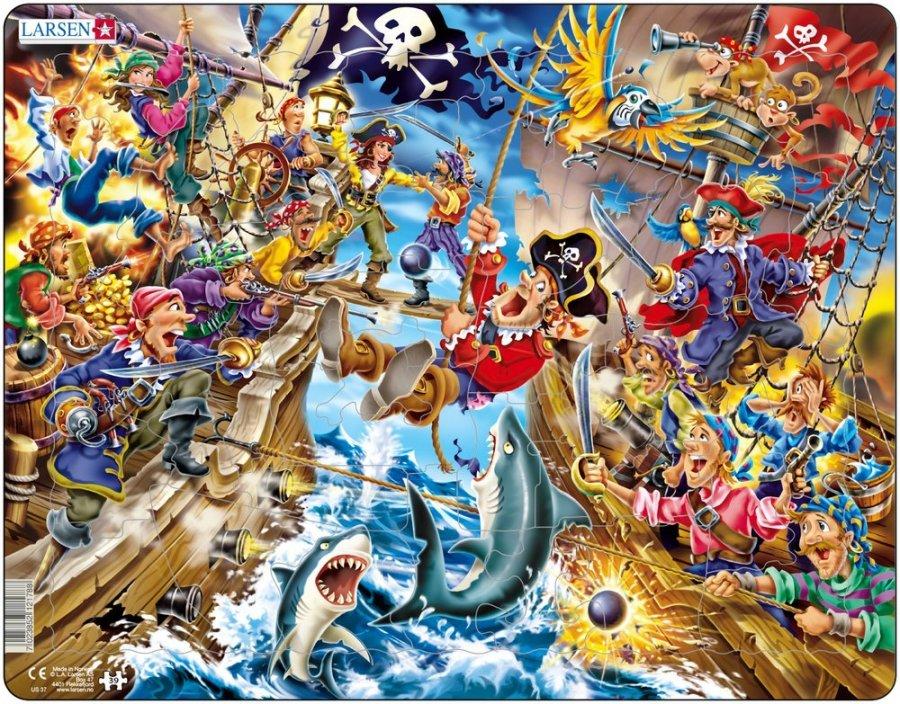 картинка Пазл - Пираты, 39 деталей от магазина Bebikam.ru