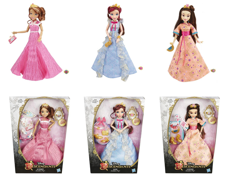 Descendants. Светлые герои в платьях для коронации, Hasbro  - купить со скидкой