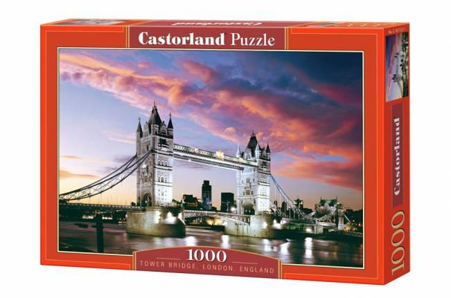Пазл Castorland 1500 деталей, Тауэрский мостПазлы 1500 элементов<br>Пазл Castorland 1500 деталей, Тауэрский мост<br>
