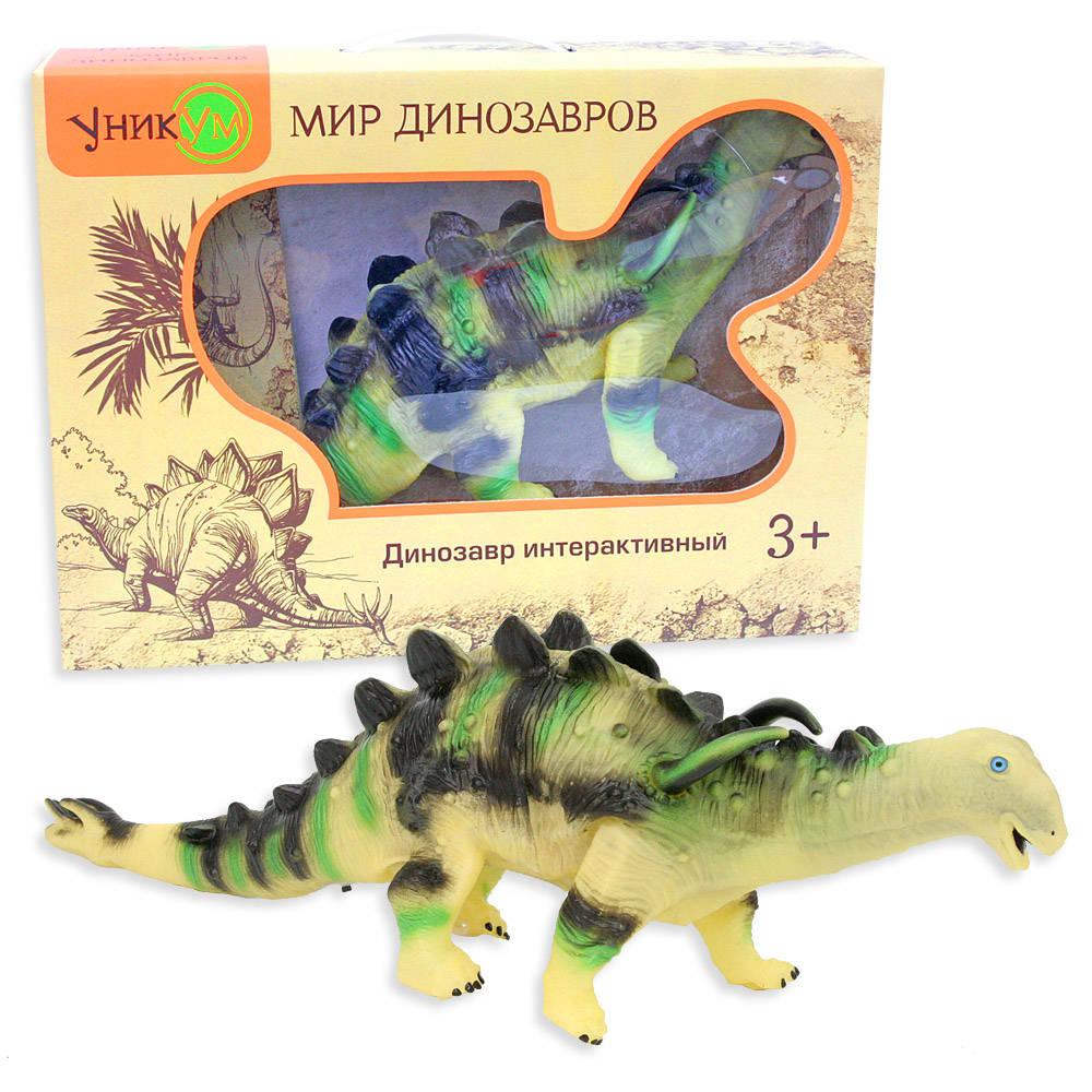 Динозавр – Туоянгозавр 38 см., на батарейкахИнтерактивные животные<br>Динозавр – Туоянгозавр 38 см., на батарейках<br>