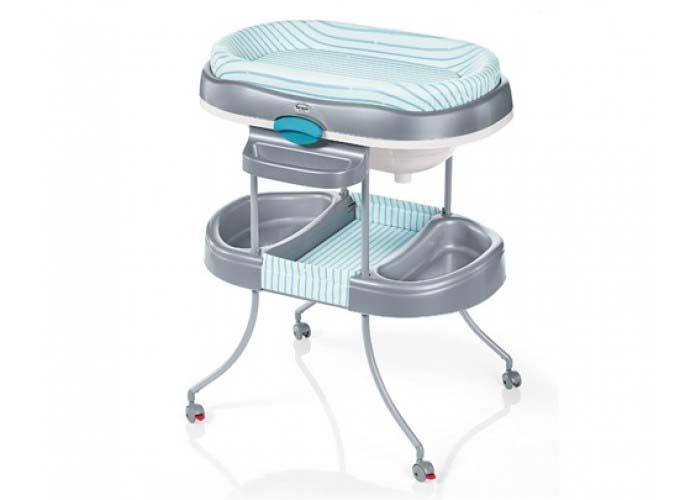 Стол для пеленания - Acgua Light, голубойКупание ребенка<br>Стол для пеленания - Acgua Light, голубой<br>