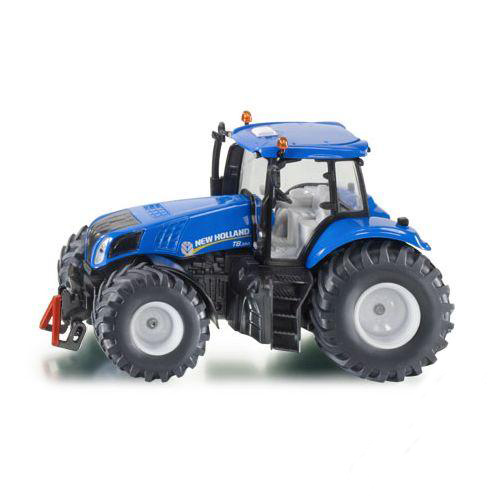 Купить Модель трактора New Holland, синий, 1:32, Siku