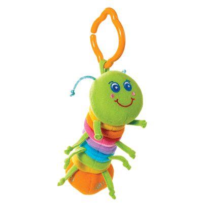Развивающая гусеничка - Детские погремушки и подвесные игрушки на кроватку, артикул: 6078