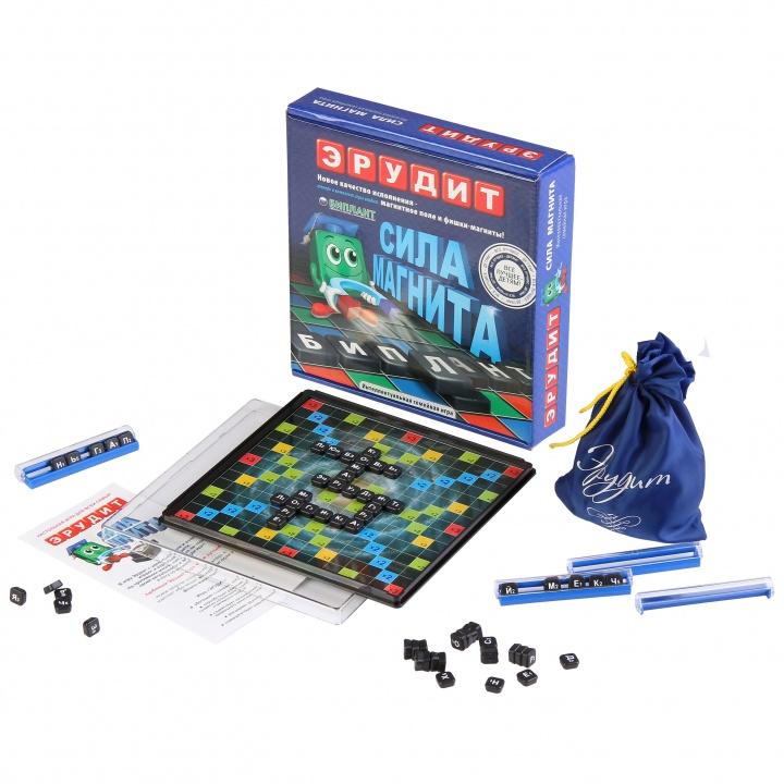 Игра настольная – Эрудит, магнитныйРазвивающие<br>Игра настольная – Эрудит, магнитный<br>